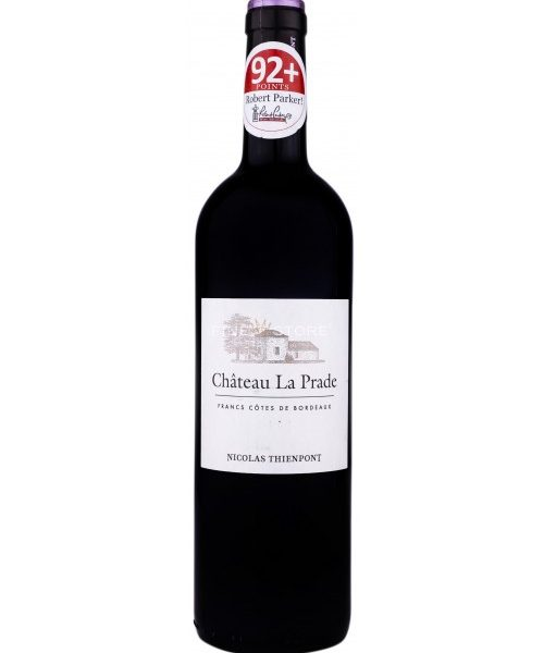 CHATEAU LA PRADE FRANCS COTES 0.75L